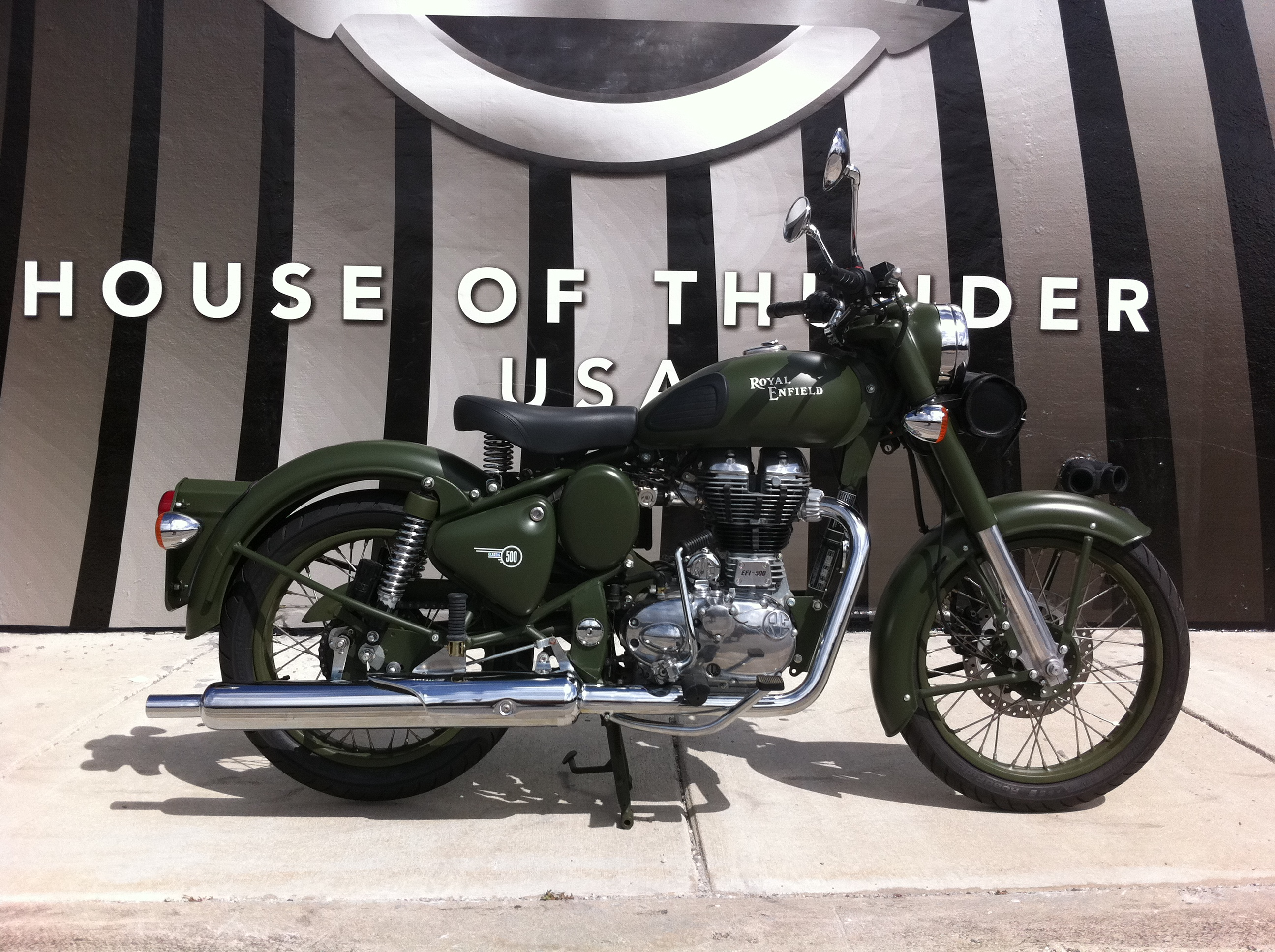 Royal Enfield C5 Military Battle Green