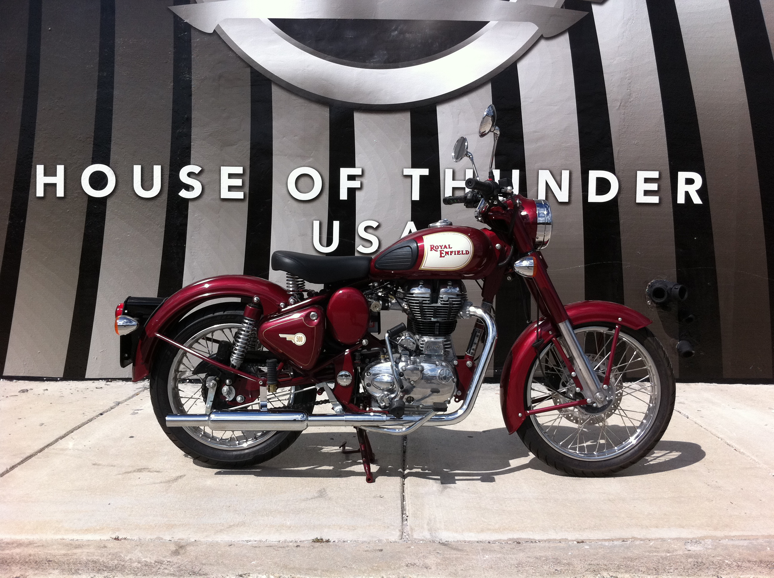 Royal Enfield C5 Classic Red