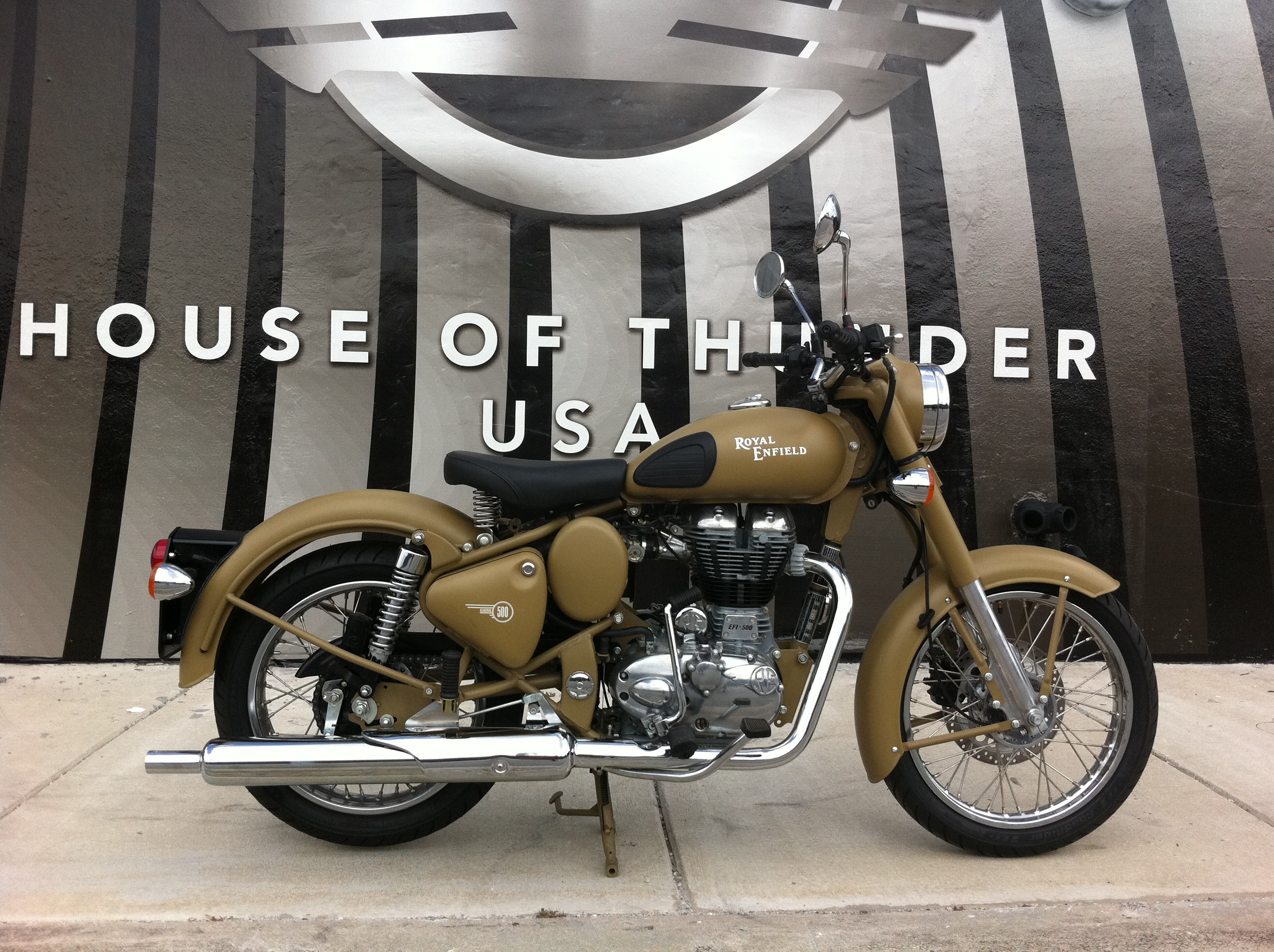 Royal Enfield C5 Military Desert Storm